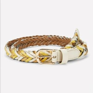 Accessories - ✨ Boutique | Woven White Tan & Yellow Belt